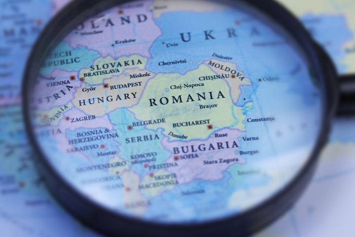 Eastern Europe: 45% of businesses report being impacted