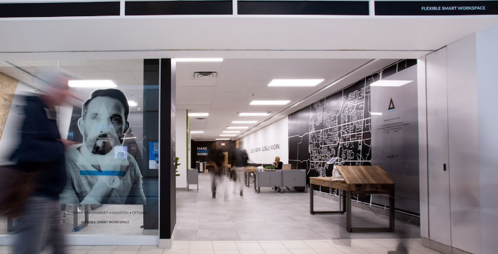 Coworking and Flexible Work Spaces Expanding in Suburban Malls in Canada